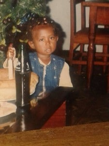 Bereket in Ethiopia, approximately 2-3 years old